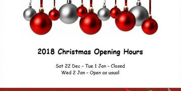 Launch UK Christmas 2018 Opening Hours