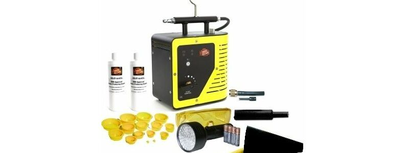 Compact Leak Detection with the Smoke Wizard GLD-50 Kit