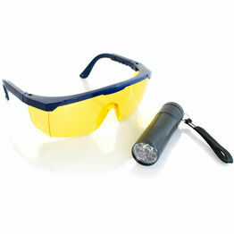 UV kit - LED Torch and Yellow Goggles