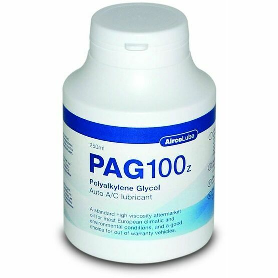 AircoLube PAG100z Auto A/C Lubricant - 250ml Bottle